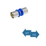 Pressfitting f. Metallverbund - Kupplung grade 20 x 20