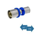Pressfitting f. Metallverbund - Kupplung reduziert grade 20 x 16