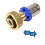 Pressfitting f. Metallverbund - Kupplung mit Euroconus 16x2